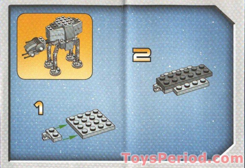 mini lego at at instructions