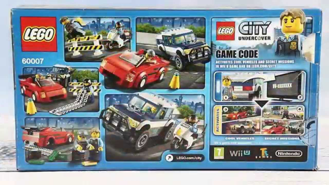 lego city police high speed chase 60007 instructions