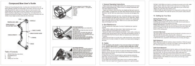 barnett predator crossbow owners manual