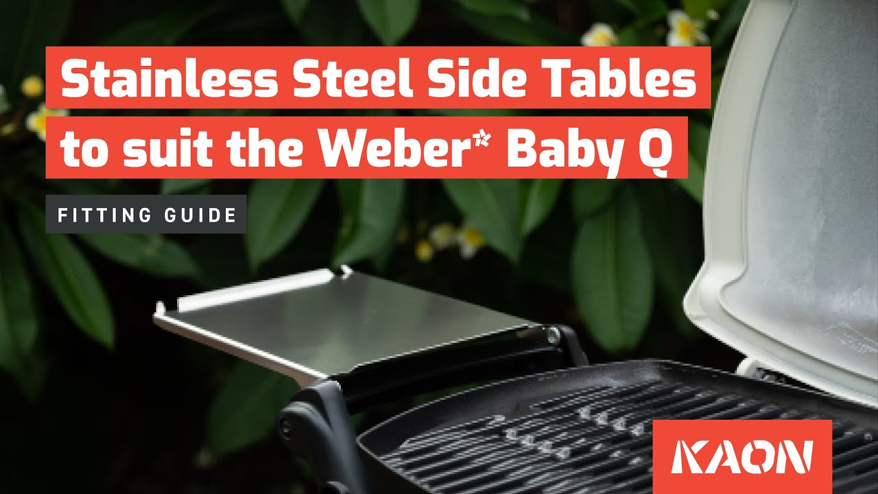 Weber baby q cleaning instructions