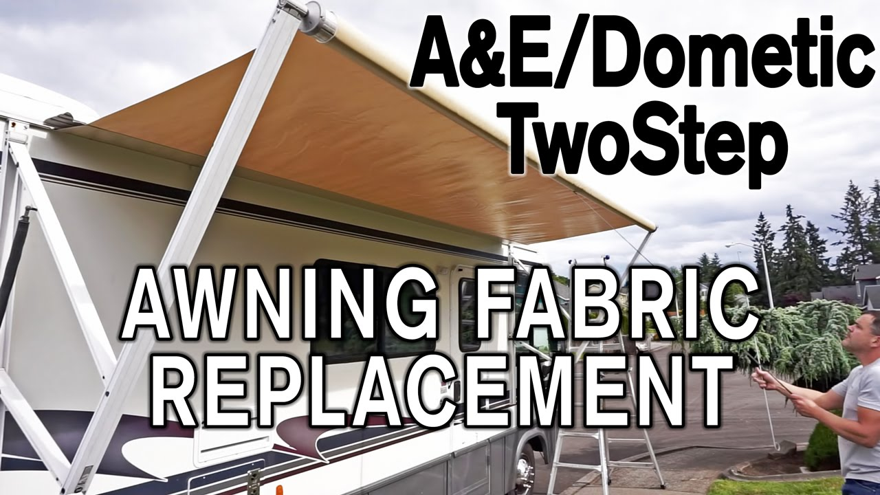 Carefree awning fabric replacement instructions