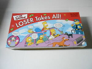 The simpsons loser takes all instructions