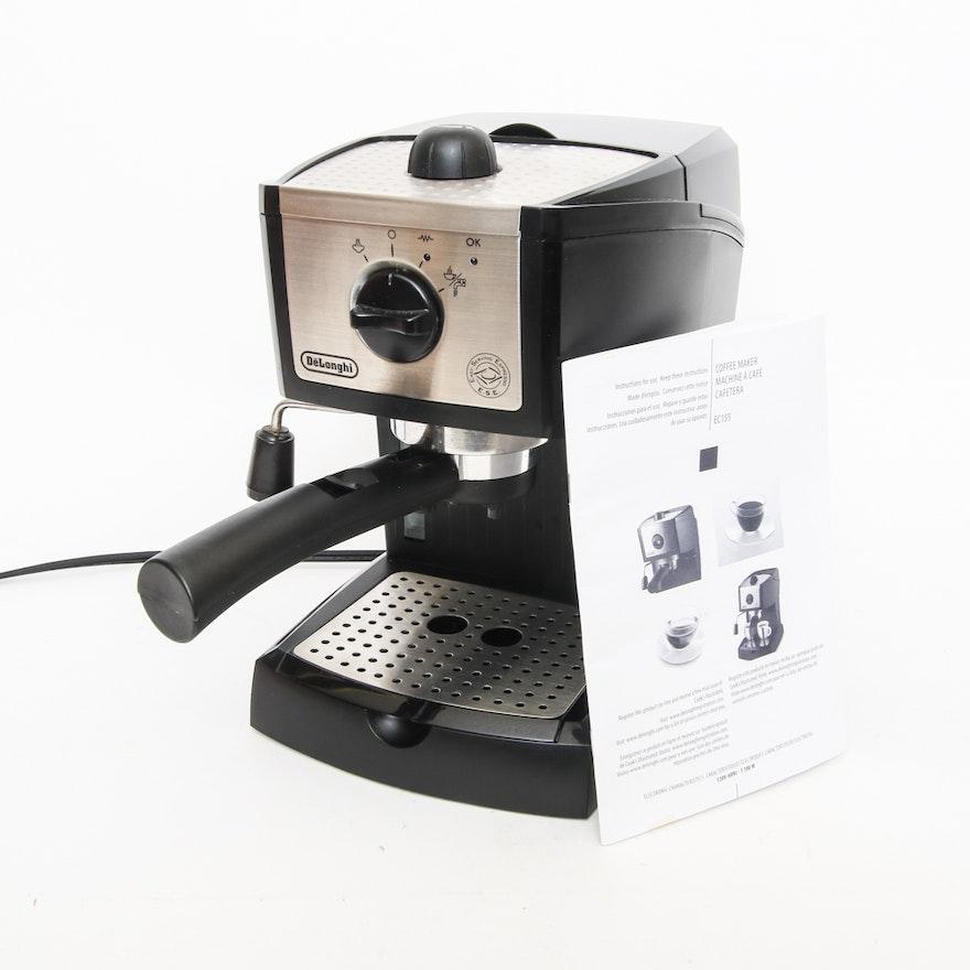 delonghi nespresso simple instructions