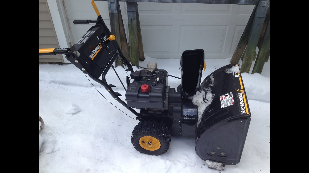 poulan pro 2011 snow blower manual