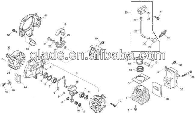 kawasaki td40 brush cutter manual