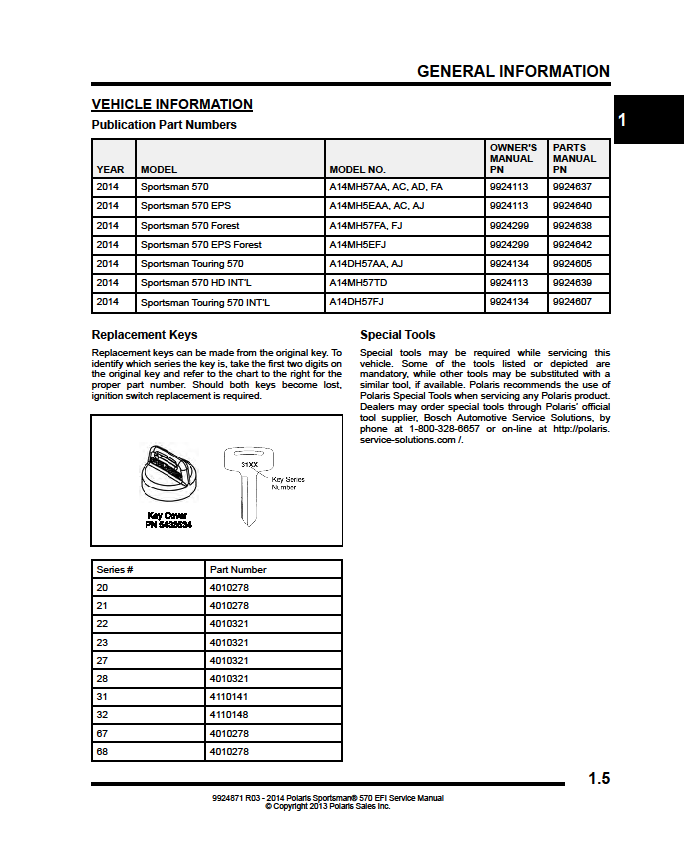 2017 polaris sportsman 570 service manual
