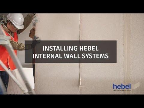Hebel power panel installation guide