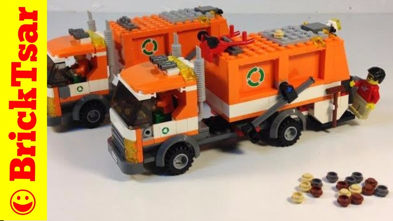 lego garbage truck instructions 7991