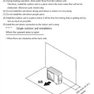 fujitsu mini split installation manual