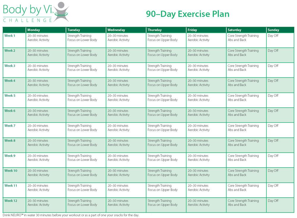 General fitness workout plan pdf