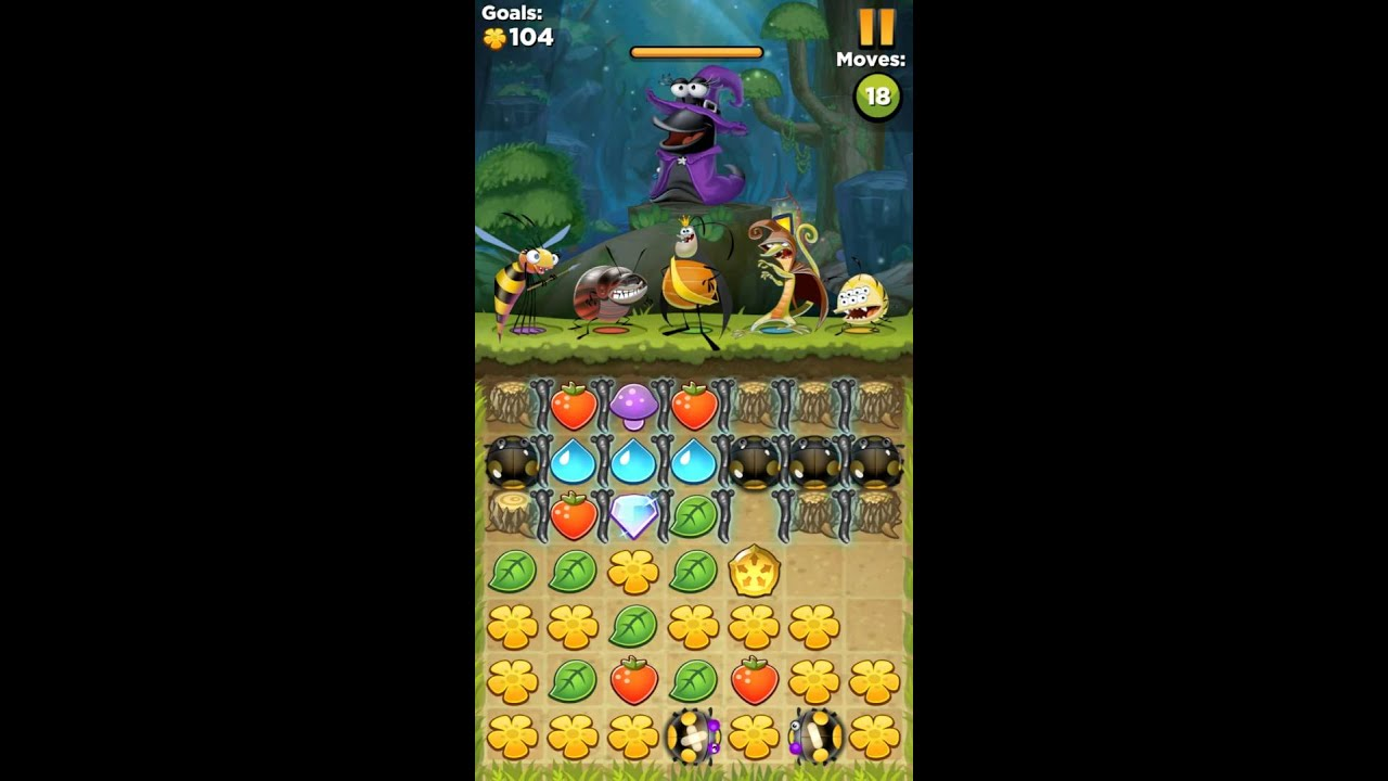 Best fiends strategy guide level 335