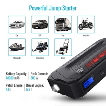 dbpower 600a peak 18000mah manual