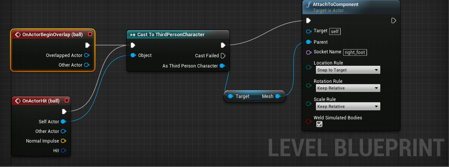 Ue4 blueprint how to add and attach component at runtime