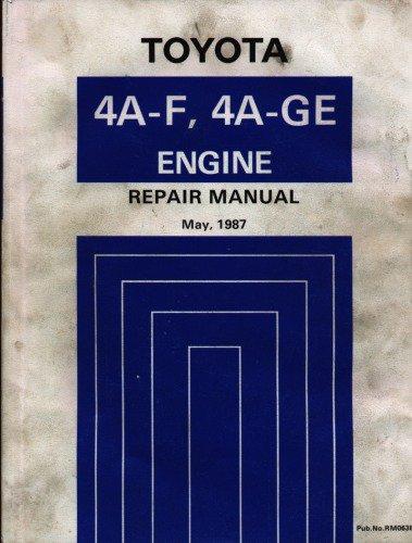 1992 toyota ae95 sprinter carib 4a fhe engine shop manual