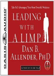 Leading with a limp pdf