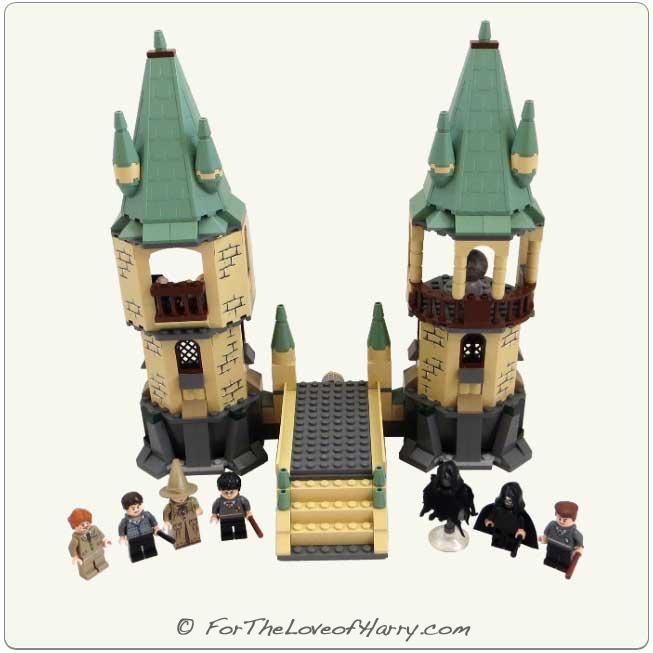 lego harry potter hogwarts castle instructions 4867