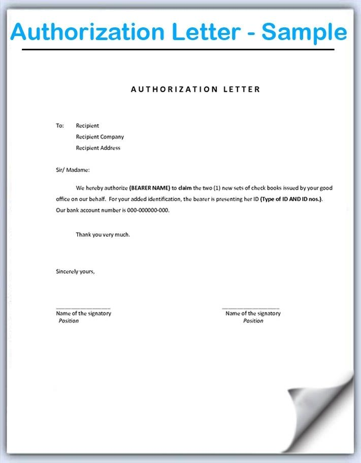 What is document of authorization