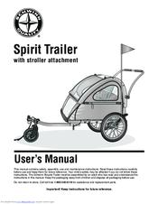 schwinn spirit bike trailer instructions