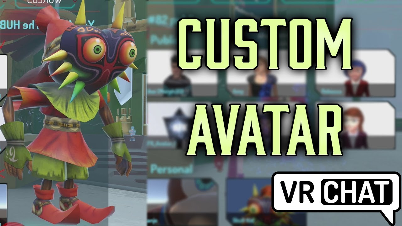 Vrchat how to get avatars