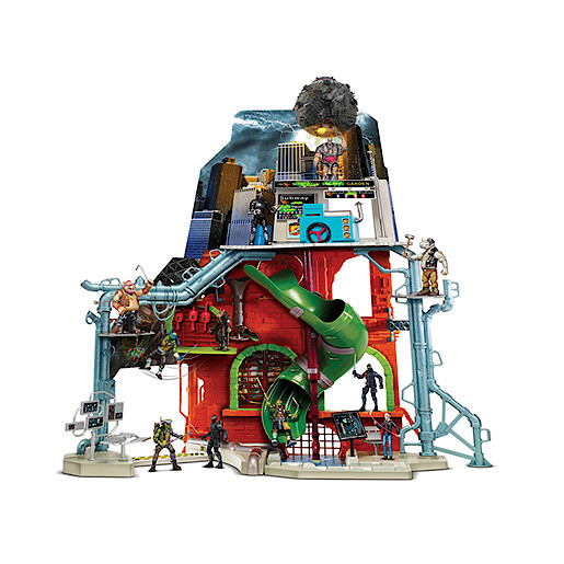 teenage mutant ninja turtles lair playset instructions