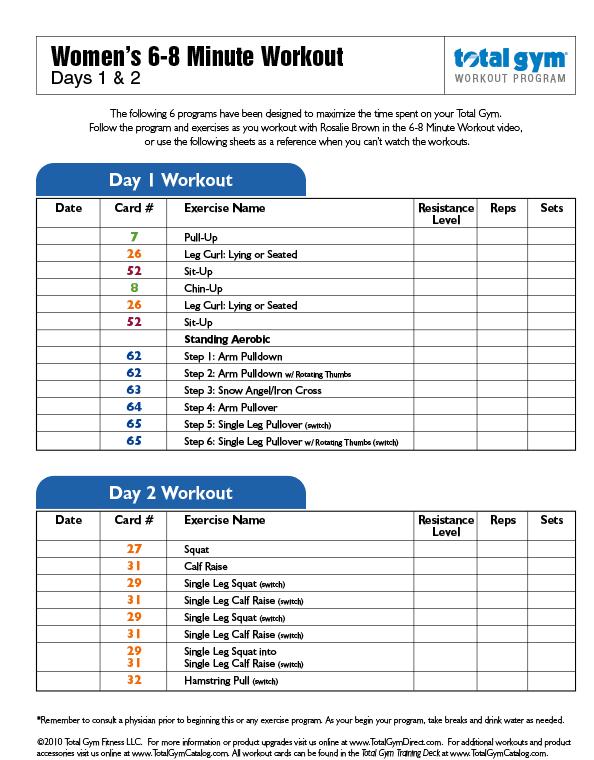 Beginner gym workout male pdf