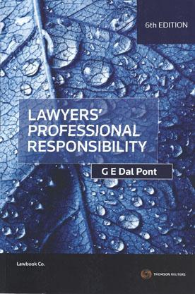 Lawyers professional responsibility dal pont pdf