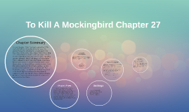 Summary of how to kill a mockingbird chapter 27