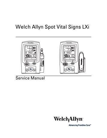 Welch allyn propaq service manual