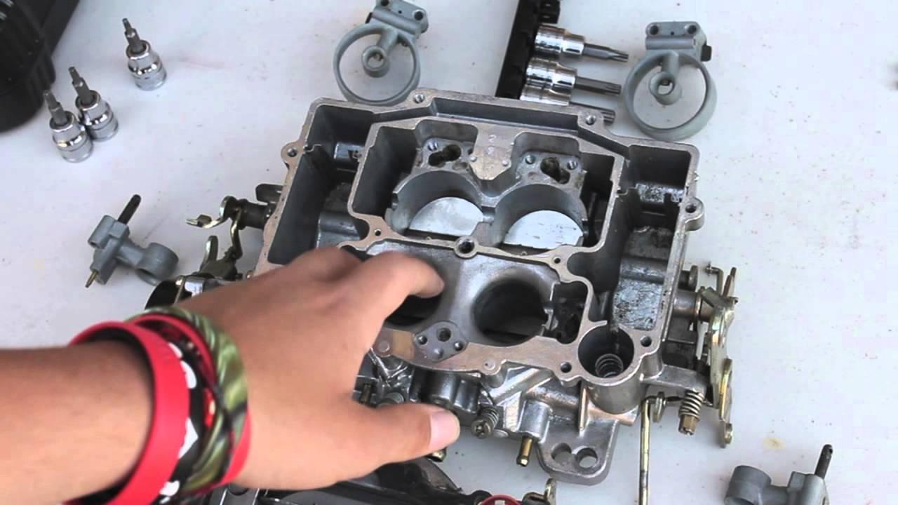 edelbrock 1406 rebuild kit instructions