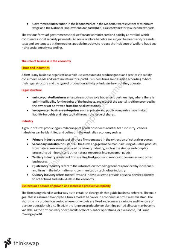 Year 12 economics tim riley pdf