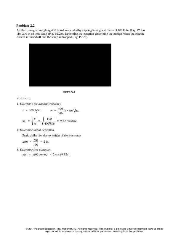 solution manual for dynamics of structures chopra