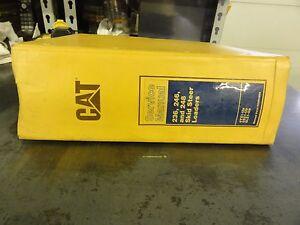 Caterpillar 246 skid steer manual