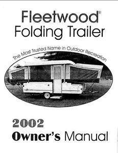 Fleetwood coleman trailers manuals