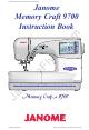 janome memory craft 9000 service manual