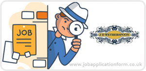 Jd wetherspoon jobs application form