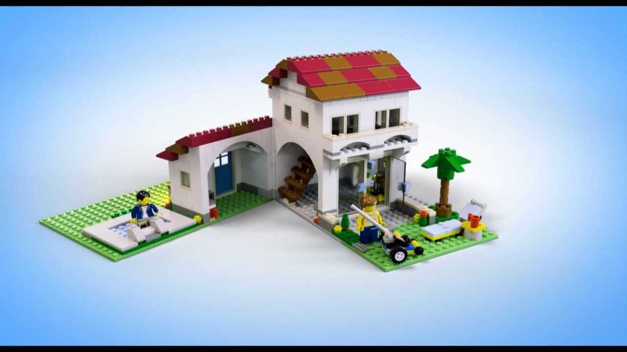 lego creator family house instructions