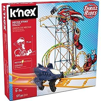 k nex typhoon frenzy roller coaster instructions