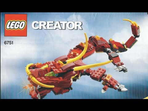 lego creator green dragon instructions