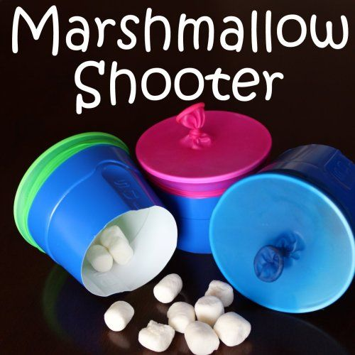 marshmallow shooter cup diy instructions