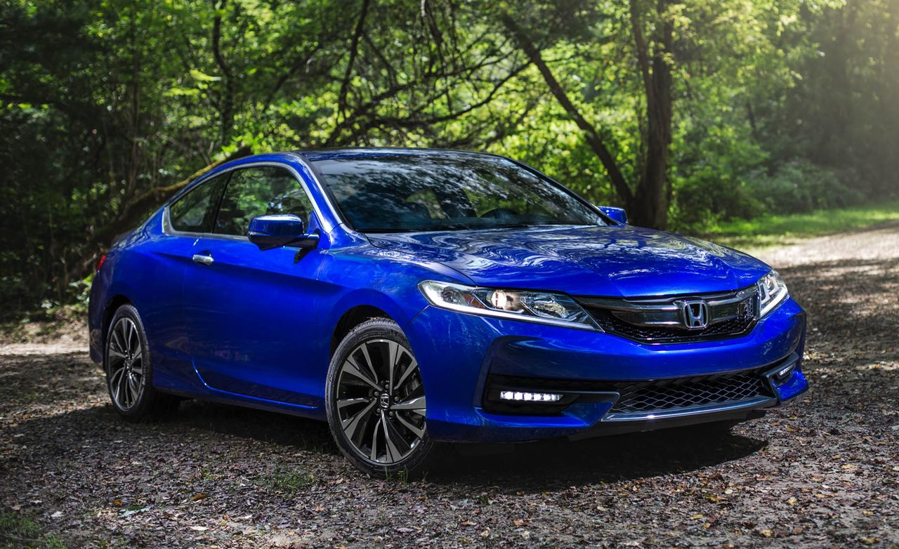 2016 honda accord coupe v6 manual review