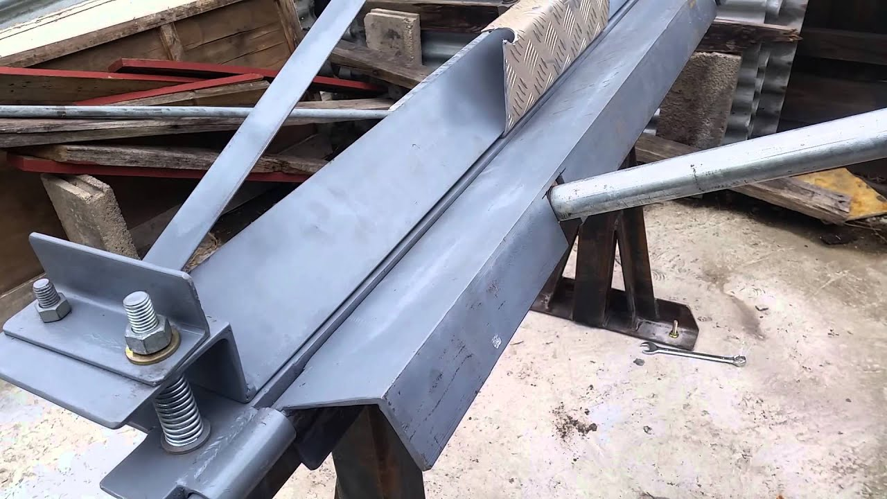 Homemade sheet metal bender pdf