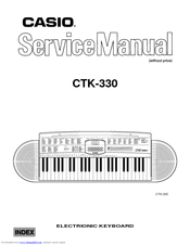 casio px 330 service manual