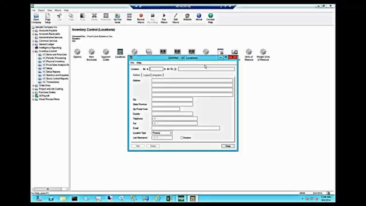 Sage 300 erp tutorial pdf