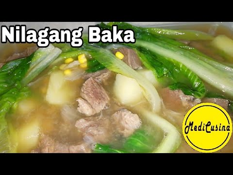 Nilagang baka how to cook