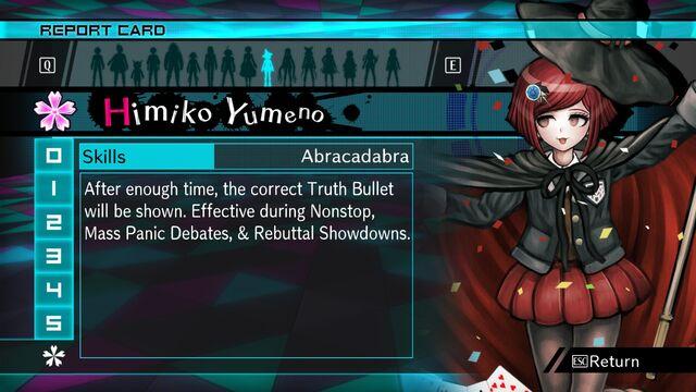 Danganronpa v3 how to get shuichi report card