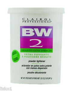 Bw2 powder bleach instructions