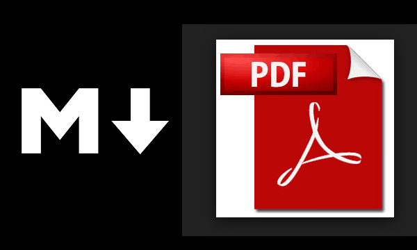 Create pdf from markdown online