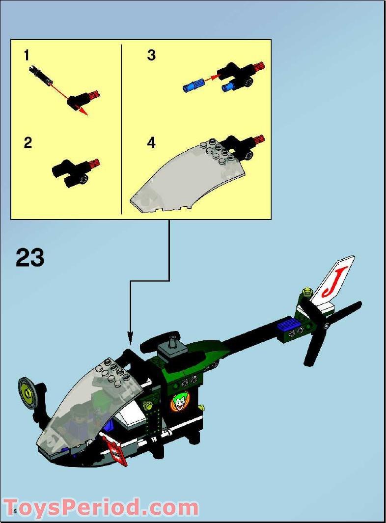 lego batman batwing instructions