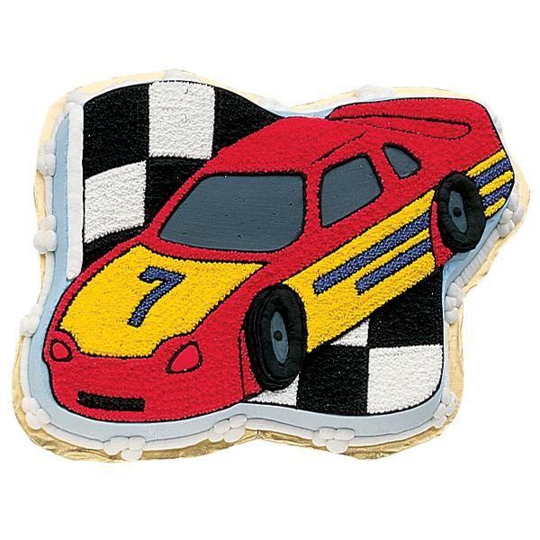racing car cake instructions