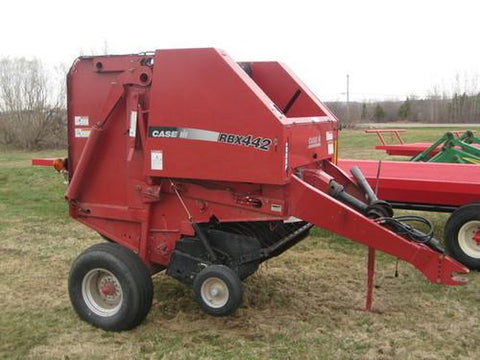 Case ih 8465 round baler manual